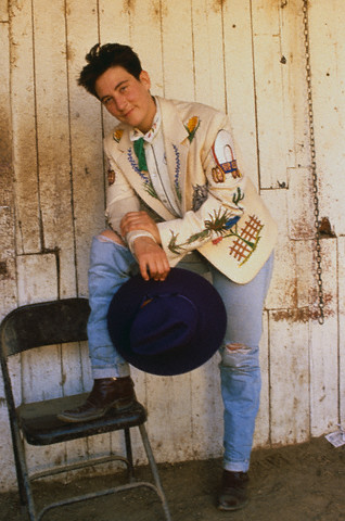 K.D. Lang, 1989 [Image by © Neal Preston/CORBIS]