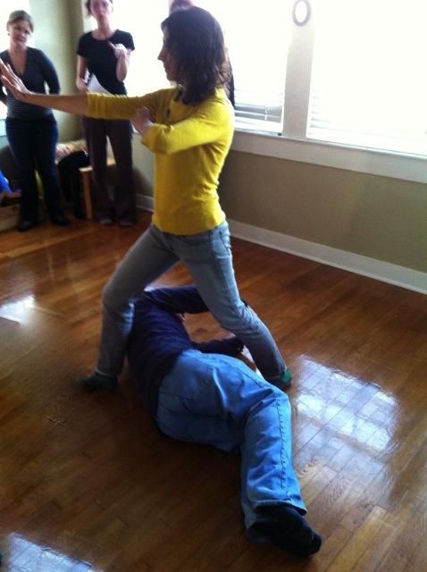 Alyson and David in Refuse and Nurture
