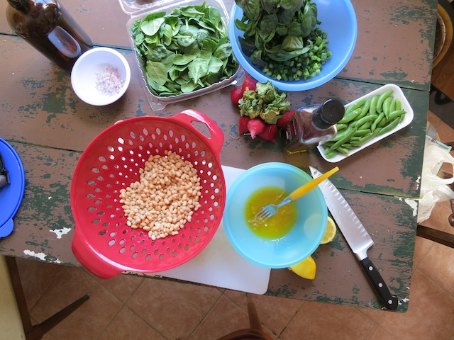 get baked white bean salad