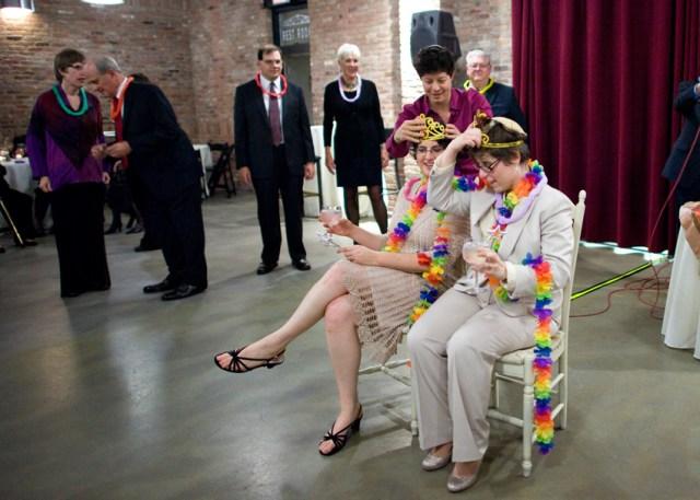 lesbian jewish new jersey wedding