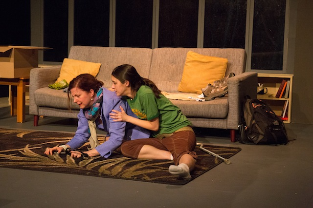 Susan Ferrara and Rachael Hip-Flores Photo as Elizabeth and Kelly in 'Sans Merci' copyright Titus Winters