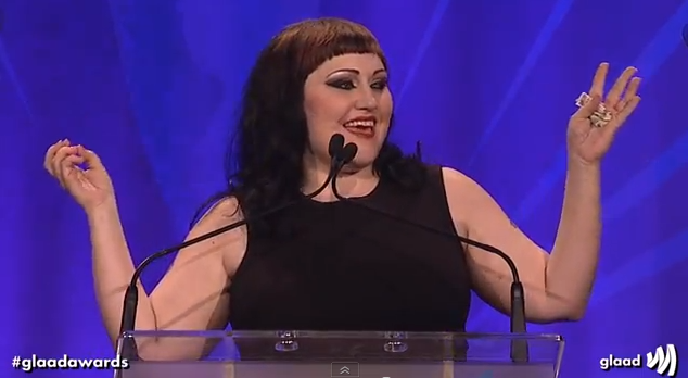 beth ditto glaad