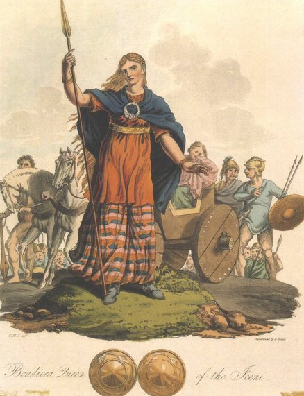 BOUDICCA LEADING HER TROOPS