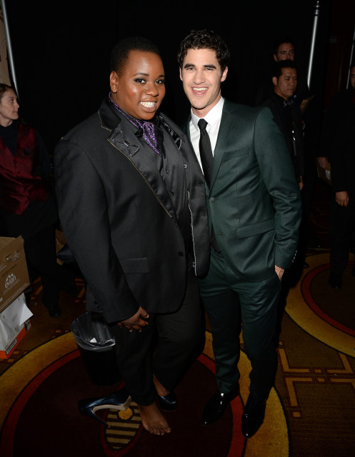 Alex Newell & Darren Criss