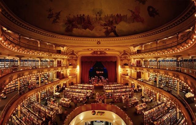 the Teatro Grand Splendid via Slate