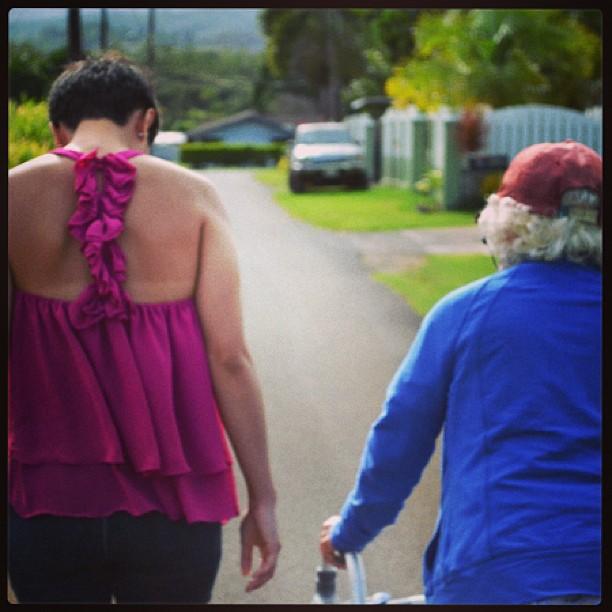 Ciera with Grandma