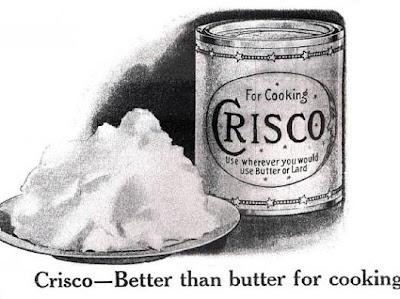 Crisco aka Cottonseed Oil