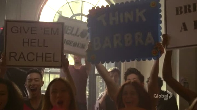 we were actually told we'd be hitting up the today show in times square but whatevs the signs still work