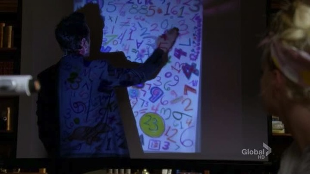 and this here, is this or is this not a drawing of santana's breasts?