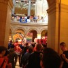 Inside the Capitol as it begins to fill with people