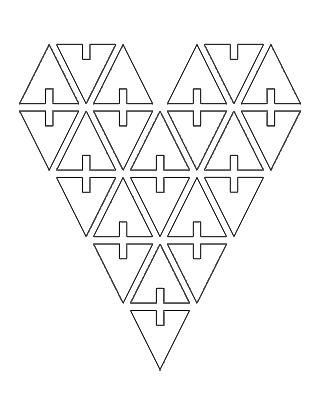 as-heart stencil