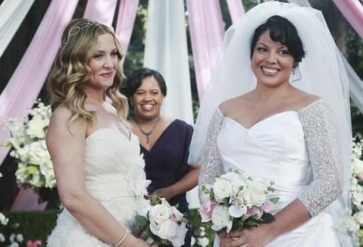 Inquiry Greys anatomy and lesbian can