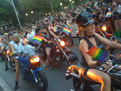 DYKES ON BIKES IN BASEL, SWITZERLAND {VIA QUALIA FOLK}
