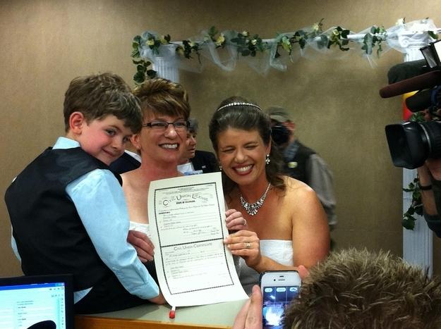 Fran and Anna Simon's Gay Marriage in Colorado