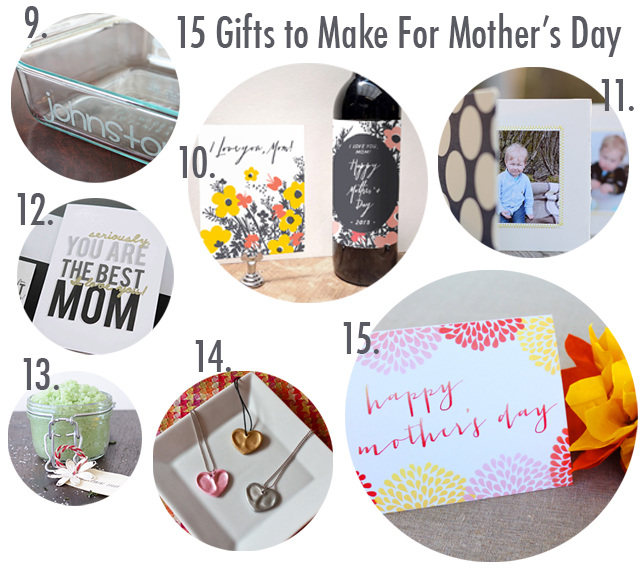 make a thing mother's day collage 2
