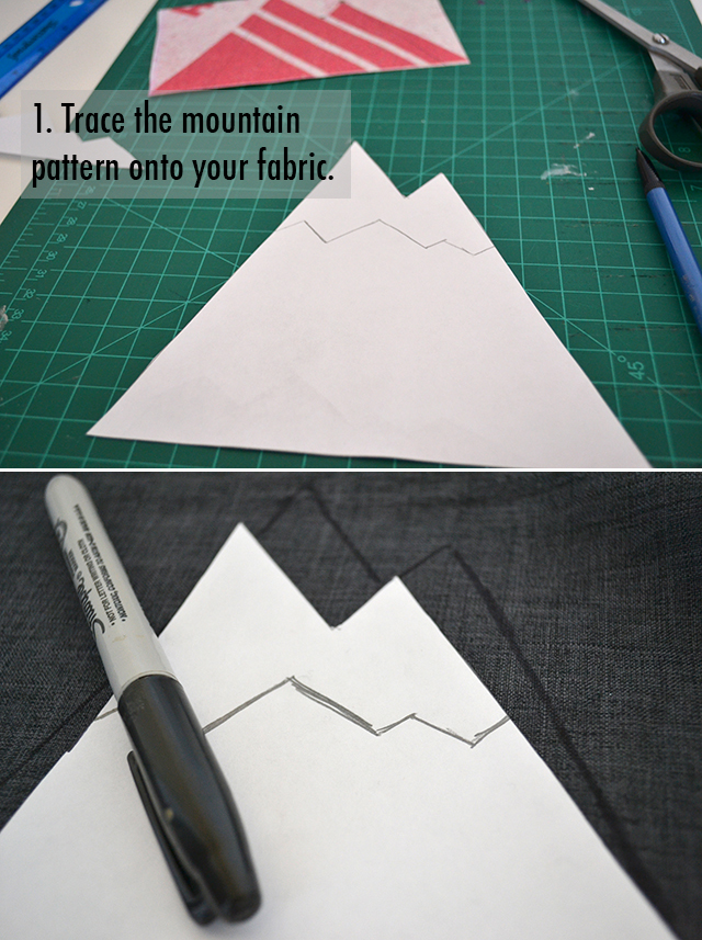 make a thing  making mountains on the mountain