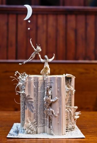 peter pan book art via pinterest