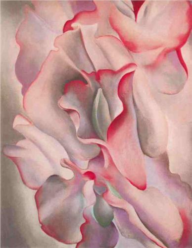 By Georgia O'Keeffe