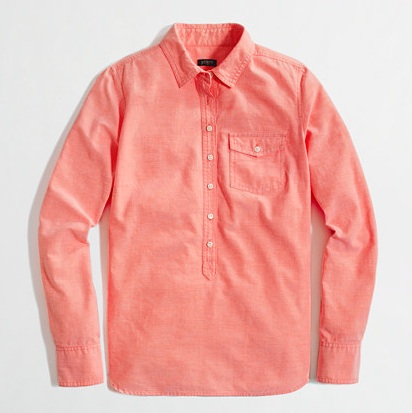 this is a popover via J.Crew Factory