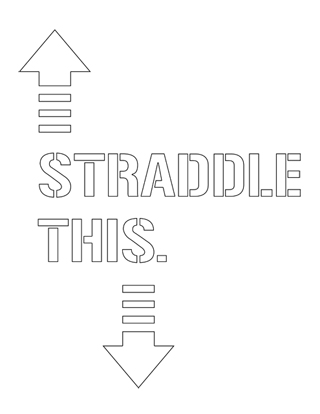 straddle-this stencil
