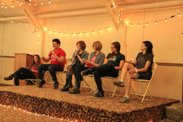 What Makes A Queer Family Queer Panel (photo by katie o)
