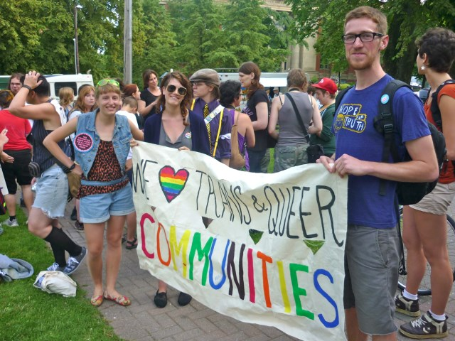 Queer Allies in HalifaxPhoto Credit: Rebecca Rose