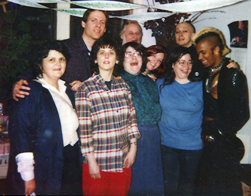 brenda howard, second from the right in the front row