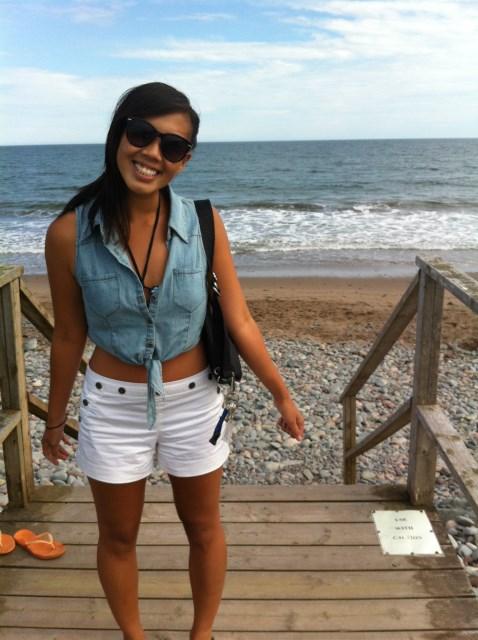 Chloe at the BeachPhoto Credit: Rebecca Rose