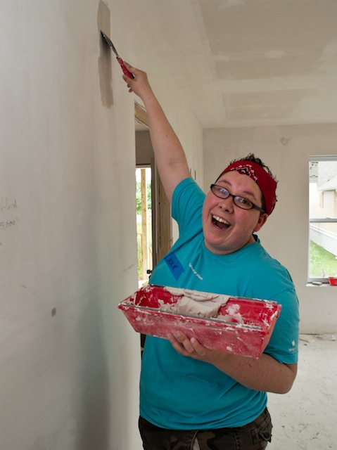 Jackie, 26, on a Mission Trip in 2012