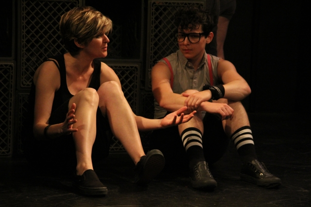 Caitlin Lee Reid as Sue and Jax Jackson as Jerry, photo by KL Thomas
