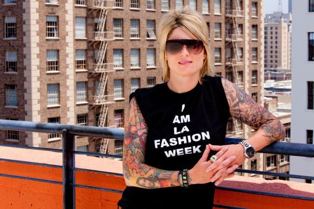 "typo: should read ""i am angelus oaks fashion week"""