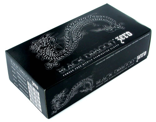 Nitrile Black Dragon Zero Gloves, Medium, 100 count, $12.25 at Amazon