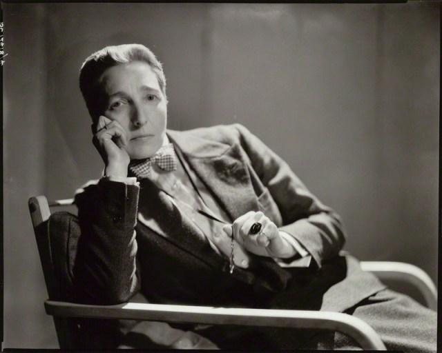 Radclyffe Hall via National Portrait Gallery