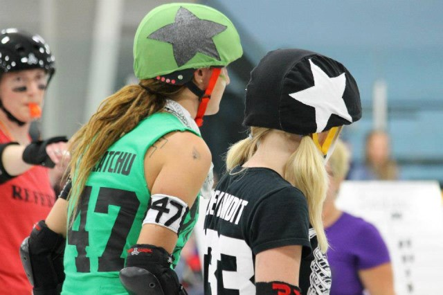 Halifax Roller Derby AssociationPhoto Credit: Andrea Crowell