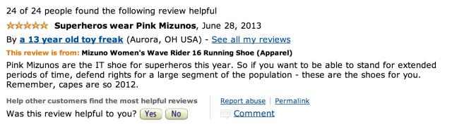 wendy davis sneaker review 2