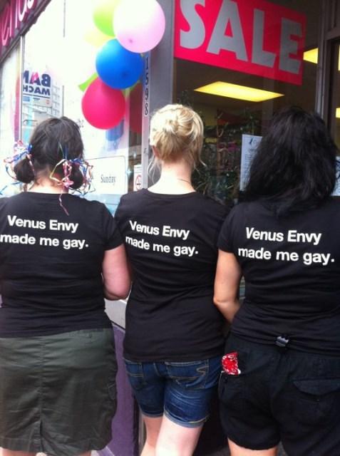 Venus Envy StaffPhoto Credit: Shelley Taylor