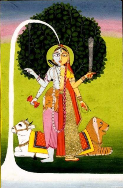 HINDU DEITY ARDHANARISHVARA