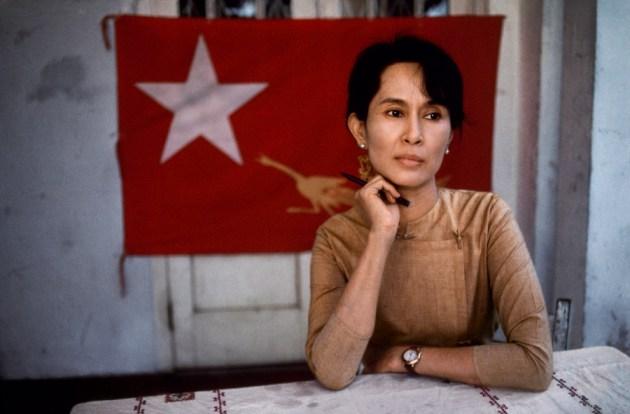 Daw Aung San Suu Kyi, photograph by steve mccurry, via