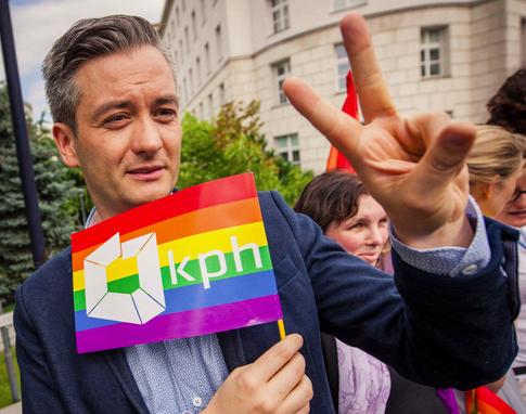 MP Robert Biedron of Poland