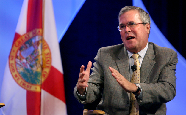 JEB BUSH WEIGHS THE PROS AND CONS OF BEING NICER