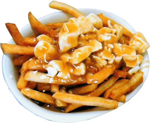 tried to take photos of the poutine I made and then s. There is no such thing as photogenic poutine. via Nadeau & Barlow
