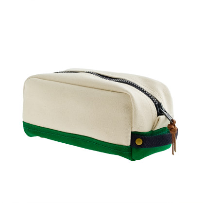 Rail and Wharf Travel Kit, at J.Crew for $48.00
