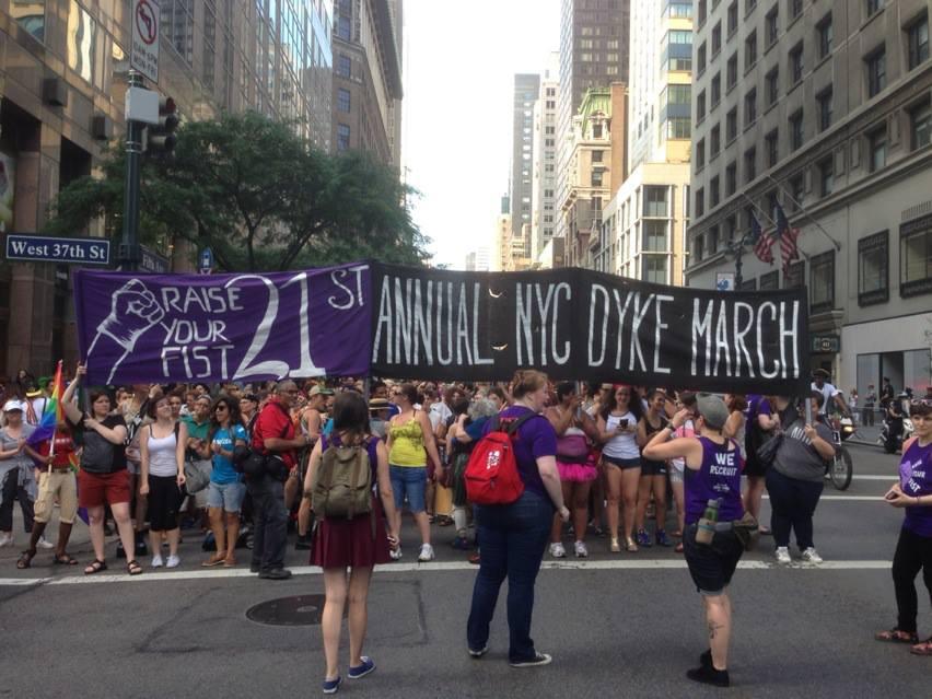 via Dyke March NYC on Facebook