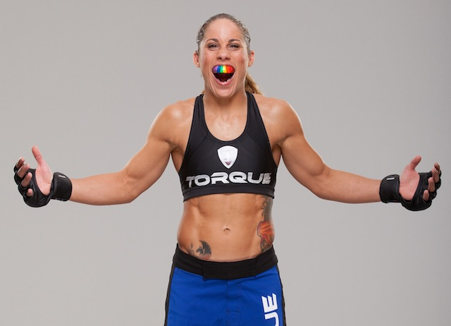 Liz Carmouche. See? Totally awesome. via UFC