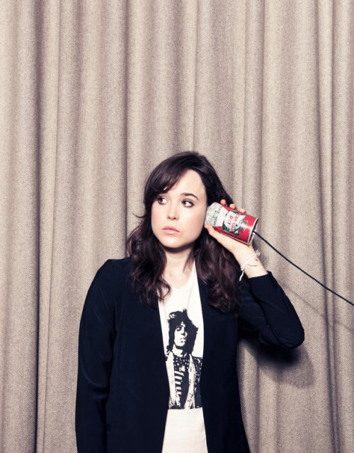 Be ready to listen like Ellen Page is ready to listen. via The Guardian