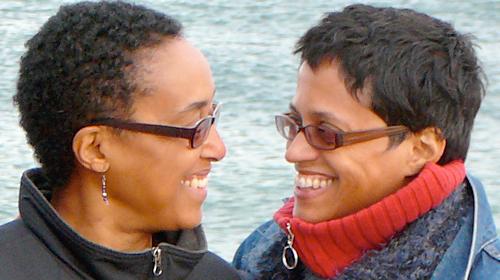 Gail and Angela, two Whitewood v Corbett plaintiffs, via ACLU