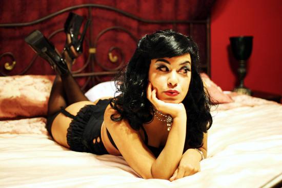 Xandra Ibarra. image courtesy of sfweekly.com