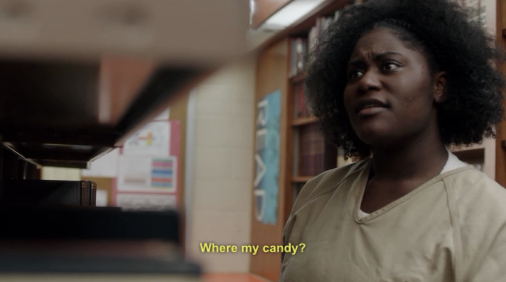 taystee: woman after my own heart