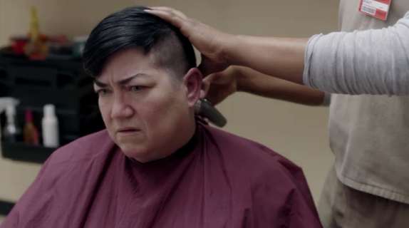 """boo found this cut on the """"queer as fuck hair"""" tumblr tag"""