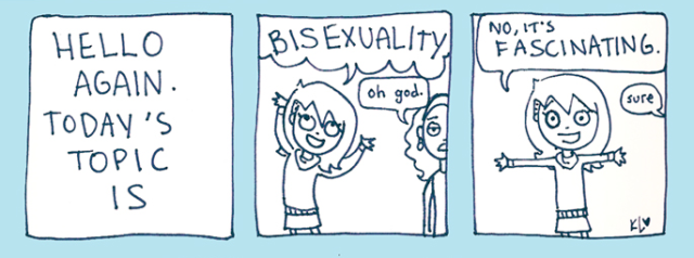 today's topic is bisexuality